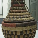 Bottle-shaped Basket with Conical Top