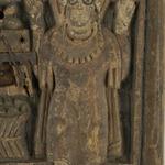 Door with Figure of a Saint