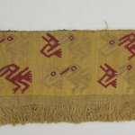 Textile Fragment, possible Border