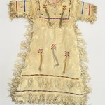 Fringed and Beaded Dress