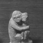 Small Sculpture Representing a Monkey