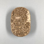 Large Scarab of Amenhotep III