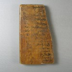 Fragment of a Plaque wtih Demotic Writing