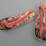 Pair of Manchu Childs Shoes