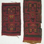 Textile Fragment, Unascertainable or Headband?, Fragment