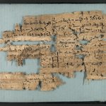 Papyrus Inscribed in Demotic