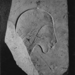 Trial Piece with a Head of a Man