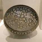 Bowl with Flying Birds and Lotuses