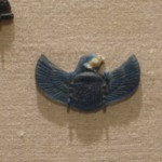 Scarab with Falcon Head