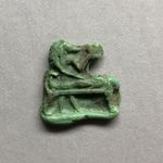 Inlay or Amulet Representing Anubis