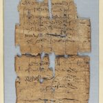 Papyrus Fragments Inscribed in Demotic