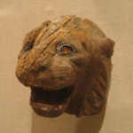 Lion Head from a Chair or Throne