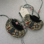 Pair of Embroidered Pouches for Incense or Tobacco