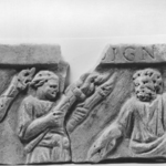 Relief Fragment with Two Figures