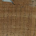 Mummy Bandage, Shed-sw-nefertem, son of Ankh-wenen-nefer and Wadjet-em-hat