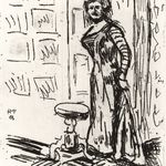 Woman at the Door (Fran au der Türe)