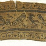 Band Fragment with Animal Decoration