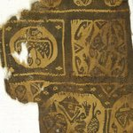 Fragment with Figural, Animal and Botanical Decoration