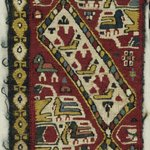 Band Fragment with Animal, Botanical, and Geometric Decoration