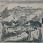 Nude Figures in a Landscape