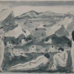 Nude Figures in a Landscape