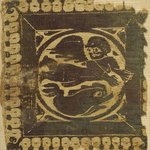 Square with Winged Figure and Dolphin