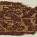 Band Fragment with Animal and Botanical Decoration