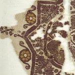 Fragment with Animal, Botanical, and Geometric Decoration
