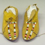 Pair of Womans Moccasins