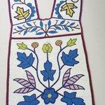 Fringed Bandolier with Floral Design