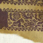 Sleeve Fragment with Figural and Animal Decoration