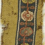 Band Fragment with Botanical Decoration