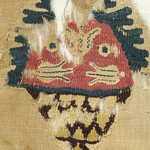 Fragment with Basket Decoration