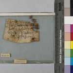Parchment Inscribed in Greek