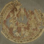 Roundel Fragment with Figural Decoration