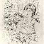 Woman with Dog (La Femme au chien)