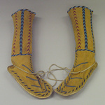 High Beaded Boots