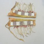 Pair of Chiefs Fringed Dress Leggings