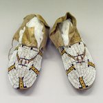 Pair of Moccasins worn in dance