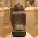 Block Statue of Harsiese, a Priest of Amun and Min