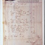 Bill of Sale of T. Brooks & Co., Nos. 127 & 129