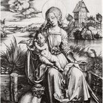 Madonna and Child with Monkey