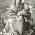 The Virgin with the Infant Savior in Swaddling Clothes