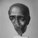 Fragment of a Head with Shaven Skull