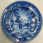Plate (Lafayette at the Tomb of Washington)