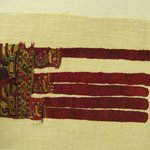 Textile Fragment, Undetermined or Textile Fragment, Undetermined, Border Fringe