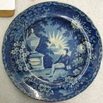 Plate (blue)