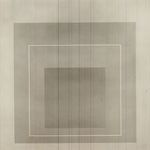White Line Squares- VI