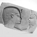 Limestone Slab with Sunk Relief - Egyptian Dynasty XI style - modern