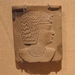Plaque of a Royal Head